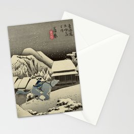 Kanbara Yoru No Yuki Korra and Naga Stationery Cards