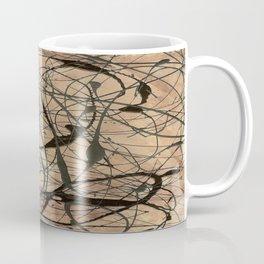 Pollock Inspired Cool Abstract Splatter Drip Art Painting - Corbin Henry Coffee Mug
