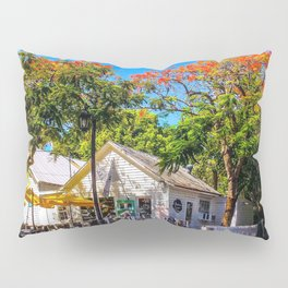 The Six Toed Cat Cafe Pillow Sham