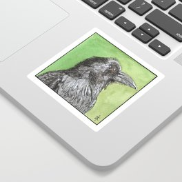 Majestic Raven Sticker