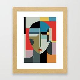 WOMAN OF WHEN Framed Art Print