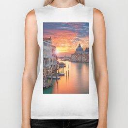 Sunset in Venice Biker Tank