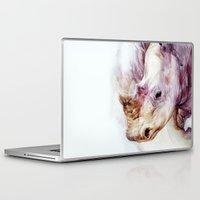 rhino Laptop & iPad Skins featuring RHINO by beart24
