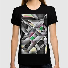 Emeralds in Industrial Design T-shirt