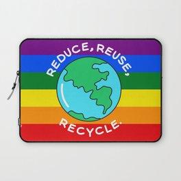 Rainbow recycling Laptop Sleeve