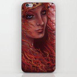 Red Tower iPhone Skin