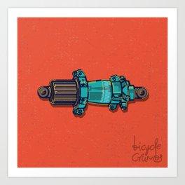 fancy hub Art Print