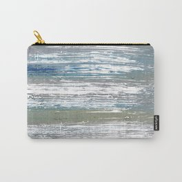 Silver striped Carry-All Pouch