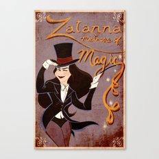 Zatanna! Mistress of Magic! Canvas Print