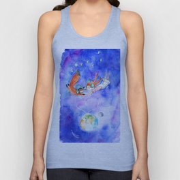 Simon and Chloe - Is there Life Beyond Music? Unisex Tank Top