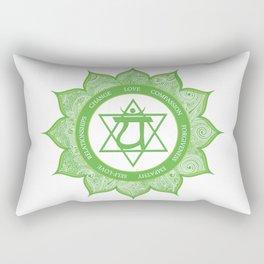 HEART CHAKRA #49 Rectangular Pillow