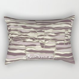 SILVER TECHNO Rectangular Pillow
