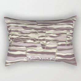 SILVER TECHNO Rectangular Pillow