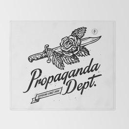 Propaganda Dept. Opposition Throw Blanket