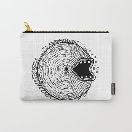 Surfer Phobia - Round Monster Fish Carry-All Pouch