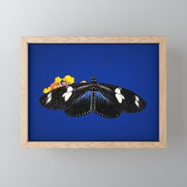 Wild Blue Framed Mini Art Print