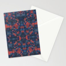 Blue Tile Stationery Cards