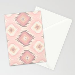 Pastel Pink & Coral Navajo Stationery Cards