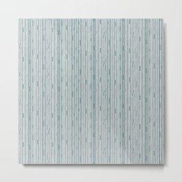 Midcentury Stripes Metal Print