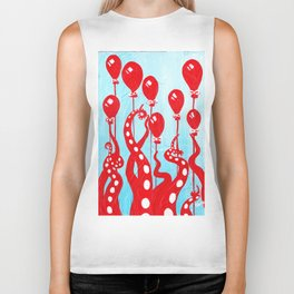 Party of One, the Octopus's Birthday Biker Tank