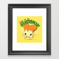 GingerBread Framed Art Print