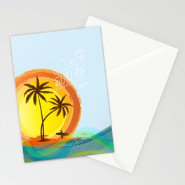 Enjoy summer Stationery Cards