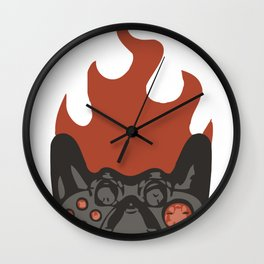 Gamerscamp isotype Wall Clock