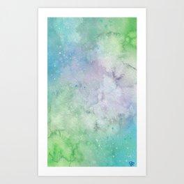 Wonky Galaxy Art Print