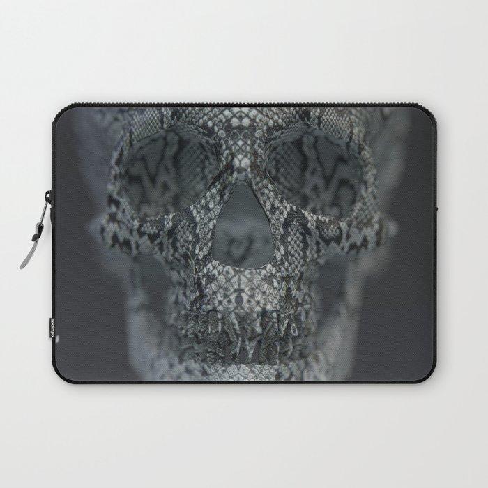 Snake Skull Laptop Sleeve