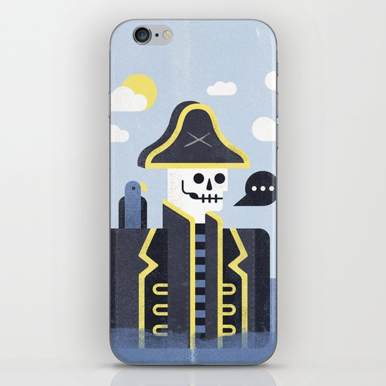 Dead Men Tell No Tales iPhone & iPod Skin