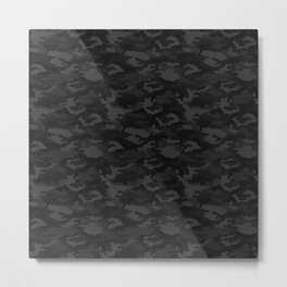 CAMO Phantom Metal Print