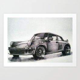 1986 RUF BTR Art Print