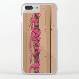 Postcard from the Garden Clear iPhone Case