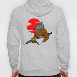 Wolf Samurai Hoody