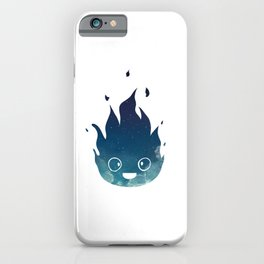 """Calcifer - from Studio Ghibli's """"Howl's Moving Castle"""" iPhone Case"""