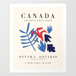 Canada Exhibition Art Print