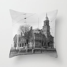 The Knox County Courthouse in Knoxville, Tennessee Throw Pillow