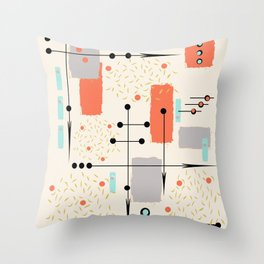 Sense of Direction Throw Pillow
