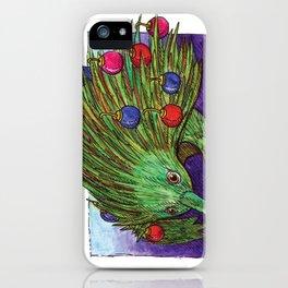 Christmas Tree Echidna iPhone Case