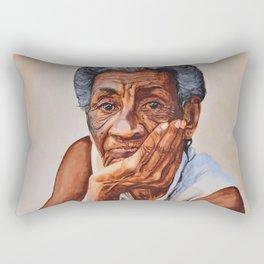 Cuban Abuela Rectangular Pillow