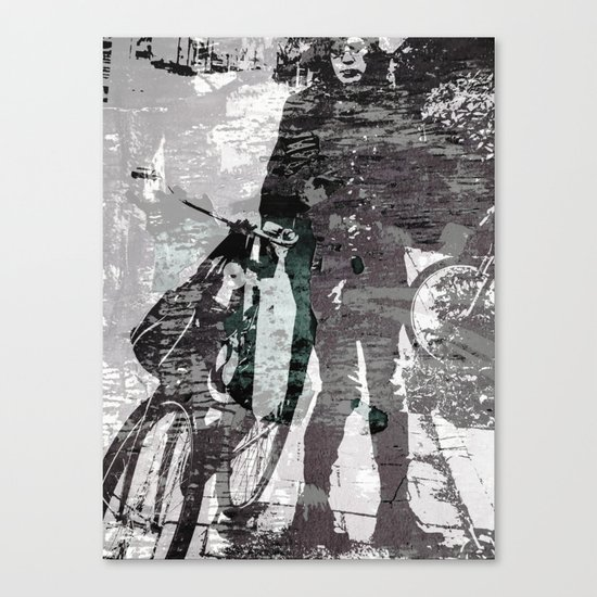 The Waiting Girl Canvas Print