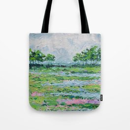 Marsh Romance No. 2 Tote Bag