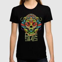 Cute Skull Dia de Los Muertos T-shirt