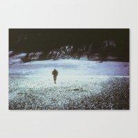 kieren walker Canvas Prints featuring WALKER by Elsewhere