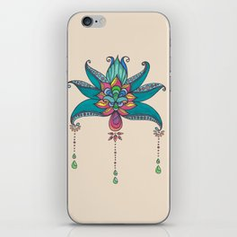 Persian Flowers  iPhone Skin