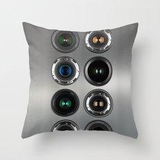 Robotic Camera Throw Pillow