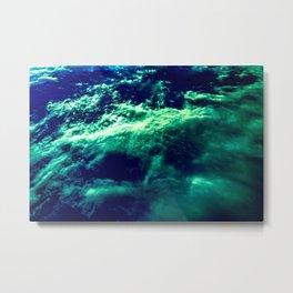 Eerie Waters Of The Bermuda Triangle Metal Print