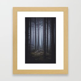 My Secret Garden Framed Art Print