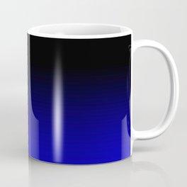 Blue Black Ombre Coffee Mug