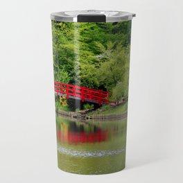 Japanese Garden Bridge Travel Mug